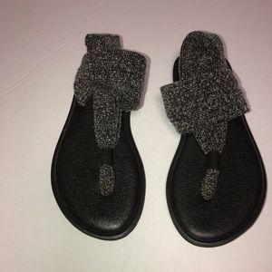 Youth Sanuk yoga sling 2 sandals 13/1